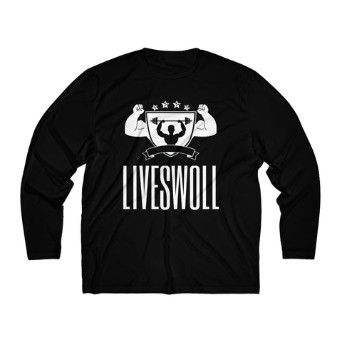 Men's Long Sleeve Moisture Absorbing Tee | LIVESWOLL