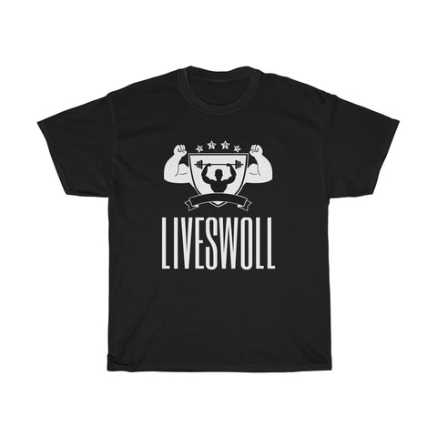 Unisex Heavy Cotton Tee | LIVESWOLL