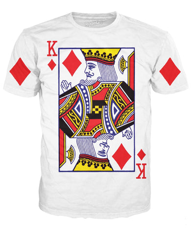 King of Diamonds T-Shirt | LIVESWOLL