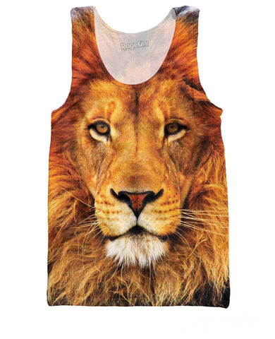 Lion Tank Top | LIVESWOLL