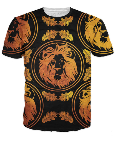 Lion Royalty T-Shirt | LIVESWOLL