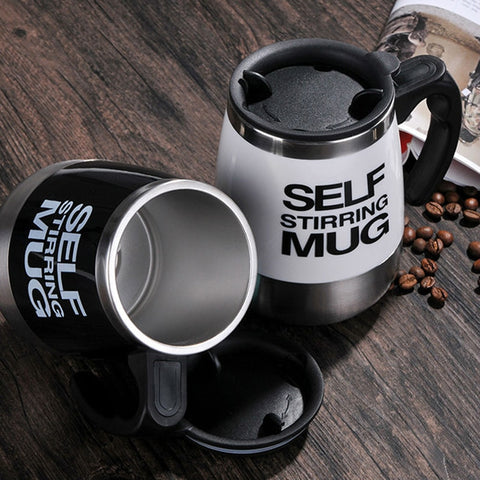 Self Stirring Coffee Mug | LIVESWOLL