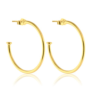 Hoops Plate - Earrings
