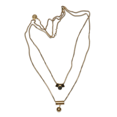 Satellite Golden - Necklace