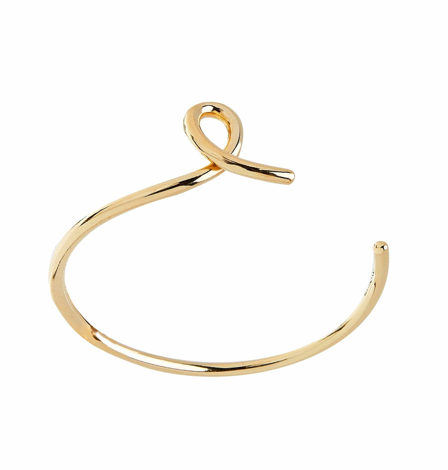 Loop Golden Bangle - Bracelet