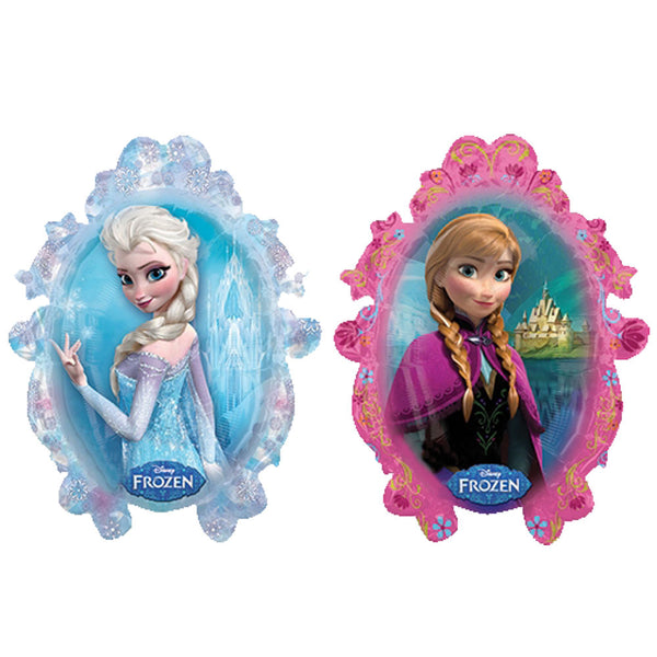 Disney Frozen Anna and Elsa Double Sided Balloon