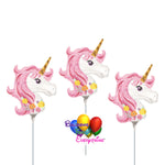 "14"" Magical Unicorn Mini Shape Birthday Balloons"