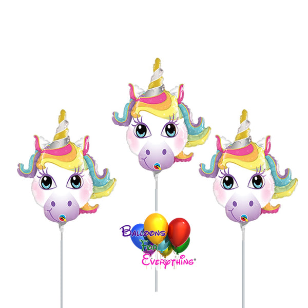 "14"" Unicorn Mini Shape Birthday Balloons"