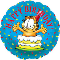 Garfield Happy Birthday Party Balloon