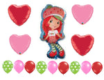 Strawberry Shortcake Balloons
