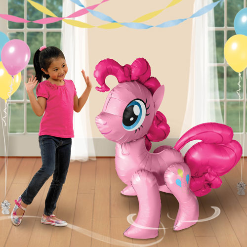 "My Little Pony Pinkie Pie 47"" Airwalker Birthday Balloon"