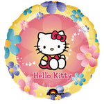 Hello Kitty Flowers Balloons