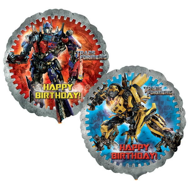Transformers Birthday Balloons