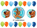 Scooby Doo Happy Birthday Balloons 19pc