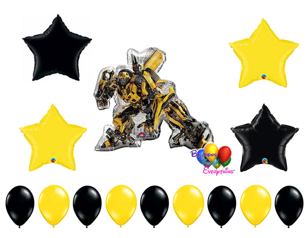 Transformers Bumble Bee Birthday Balloons