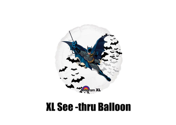 Batman See Thru Brithday Balloon