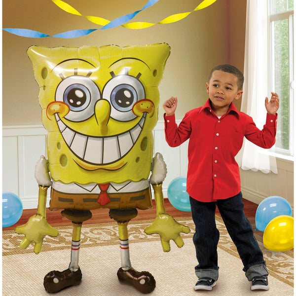 "SpongeBob 46"" Airwalker Birthday Balloon"