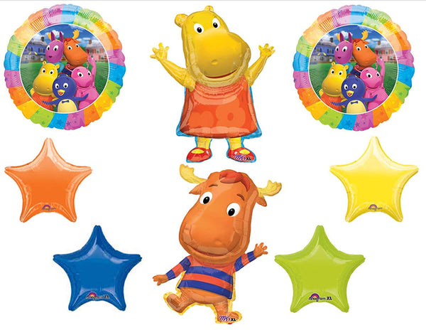 Backyardigans Tyrone Tasha Birthday Balloons