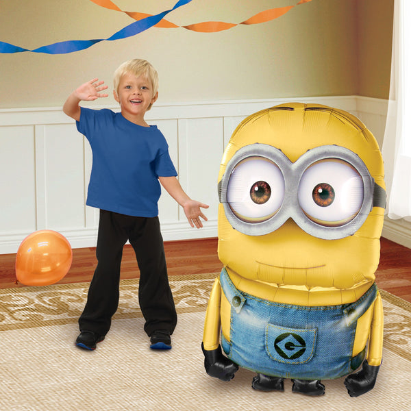 "Despicable Me Minion 48"" Airwalker Birthday Balloon"