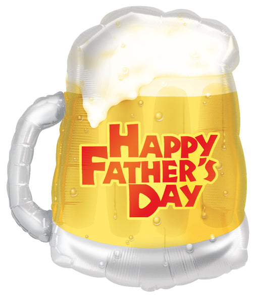 Happy Father's Day Beer Mug Super Shape Balloon