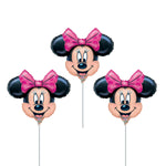 "14"" Disney Minnie Mouse Mini Head Shape Balloons"