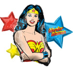 Giant Wonder Woman Birthday Balloon