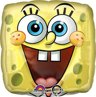 SpongeBob Square Face Balloon