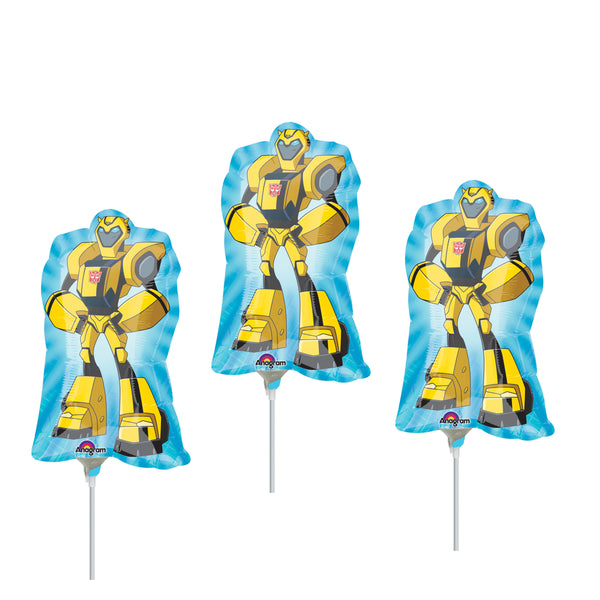 "14"" Transformers Bumble Bee Birthday Balloons"