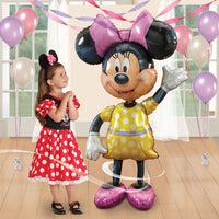 "Minnie Mouse 54"" Airwalker Birthday Balloon"