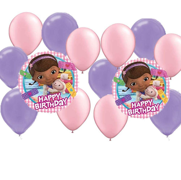 Doc McStuffins Birthday Balloon Package