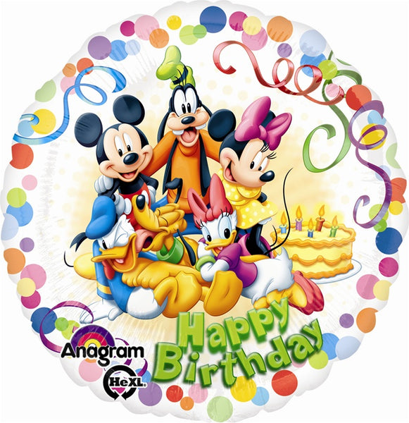 Mickey Mouse and Friend Birthday Balloon