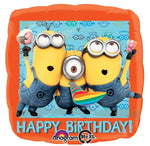 Despicable Me Minion Happy Birthday Balloon