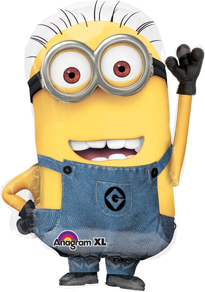 Giant Despicable Me Minion Dave Balloon
