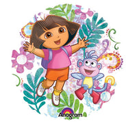 Dora and Boots Holographic Balloon