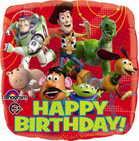 Disney Toy Story Happy Birthday Balloon