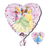 Disney Princess Holographic Heart Balloon