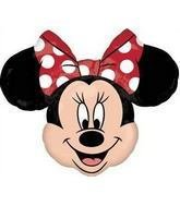 Giant Red Minnie Mouse Head Shape Balloon