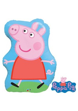 Giant Peppa Pig Foil Balloon