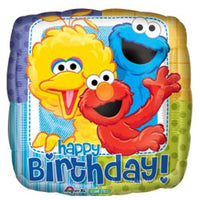 Sesame Street Gang Birthday Balloon