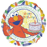 Elmo Crayons Birthday Balloon