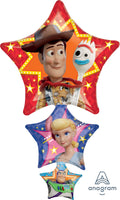 Toy Story 4 Movie Supershape Foil Balloon