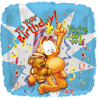 It's your Birthday Garfield Balloon