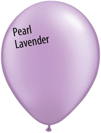 5in Pearl Lavender Latex Balloons