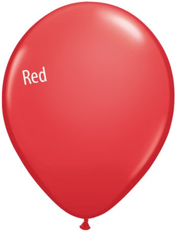 5in Red Latex Balloons