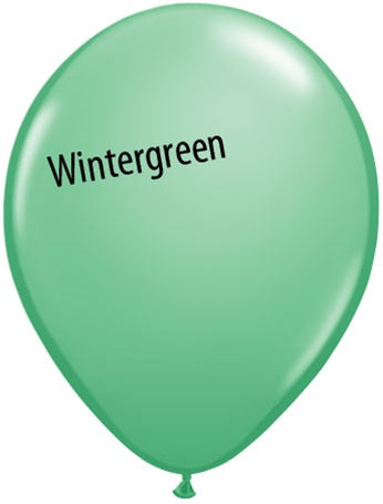 5in Wintergreen Latex Balloons