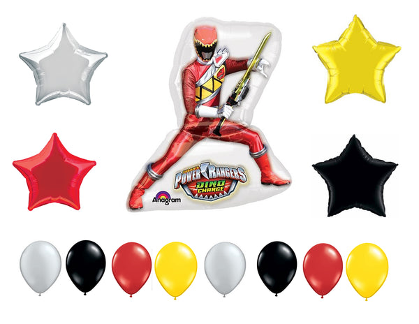 Power Rangers Dino Charge Birthday Balloons
