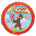 Curious George Birthday Party Balloon