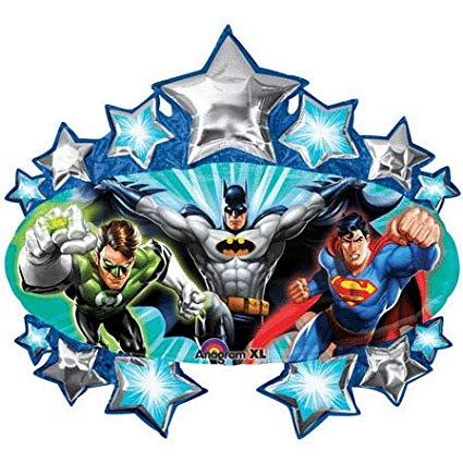 Giant Justice League Birthday Balloon