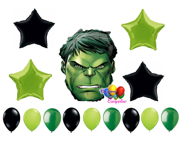 Incredible Hulk Birthday Balloons