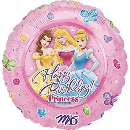 Disney Princess Birthday Balloon